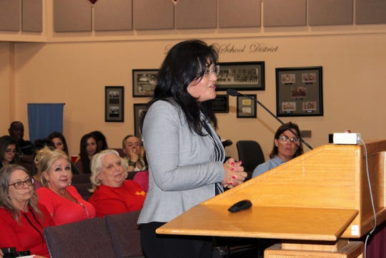 Karen Trujillo was named interim superintendent of Las Cruces Public Schools on Tuesday, Aug. 20, 2019.