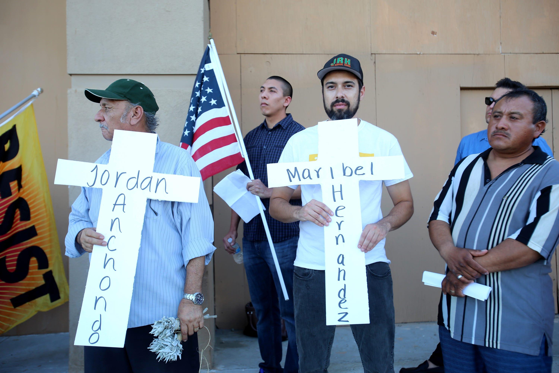 Photos: Vigil Organized by Immigrant Community