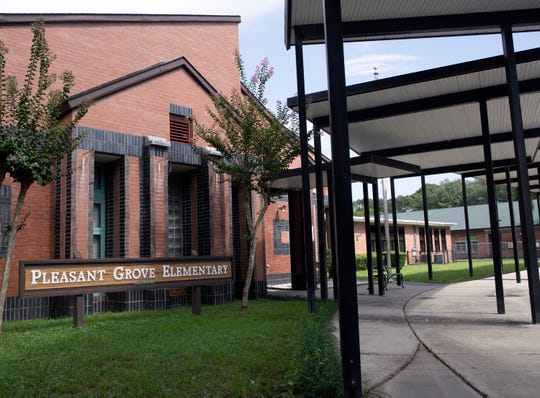The Escambia County School District is early in the process of building a new Pleasant Grove Elementary School. The new school will help ease Pleasant Grove's overcrowding issues, as well as ease student counts at the Blue Angels and Hellen Caro elementary schools, once it is completed.