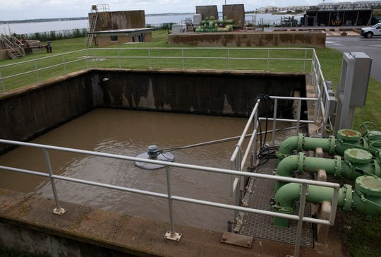 The Navarre Beach wastewater treatment plant is pictured in this file photo.