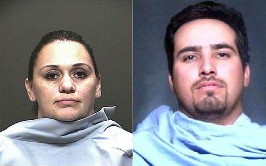 Foto de Raquel Barreras (izq.) y Martín Barreras, condenados por matar a su hijo.