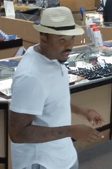 Police suspect this man of stealing diamonds from AZ Diamond Center at 6555 E. Southern Ave. in Mesa.