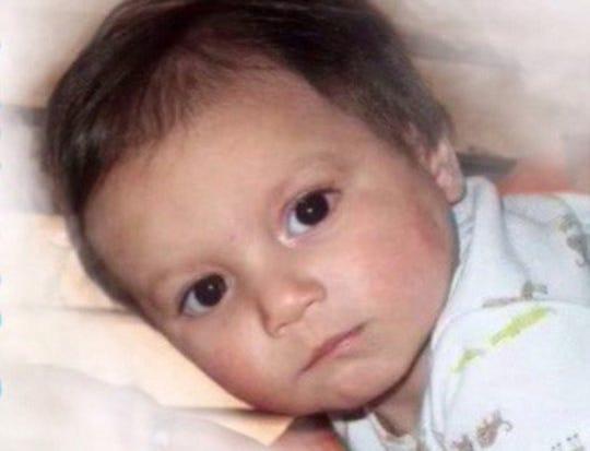 Román Barreras, el niño de 3 años que fue encontrado muerto en 2014.