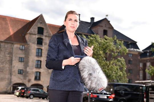 Mette Frederiksen, primer ministra de Dinamarca.
