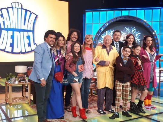 """La comedia y el elenco de """"Una Familia de Diez"""", un orgullo para Jorge Ortiz de Pinedo."""