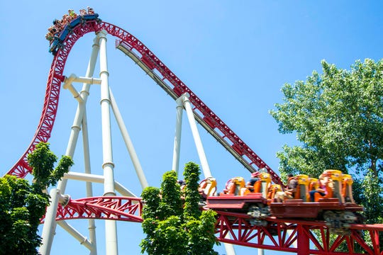 Cedar Point's Maverick rollercoaster, which debuted in 2007, remains one of the park's most popular rides. Cedar Point is set to celebrate its 150th anniversary next season.