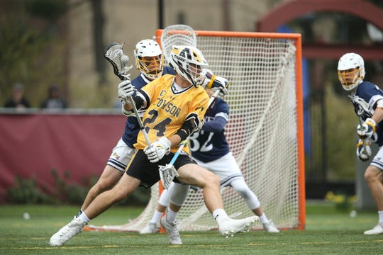 Poughquag native Brendan Sunday played college lacrosse at Towson University, earning All-American honorable mention as a senior in 2019.