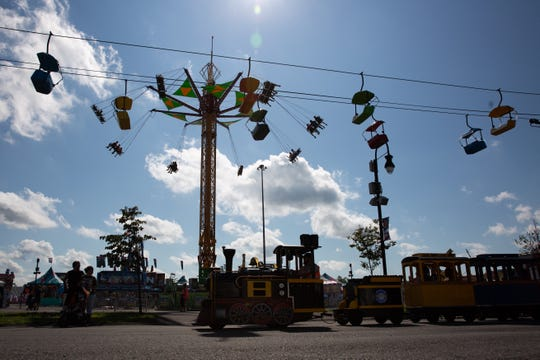 The first day of the Great New York State Fair drew thousands to the fairgrounds in Syracuse on Wednesday, Aug. 21, 2019.