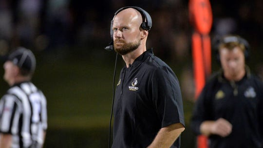 Dakota State alum Josh Conklin led Wofford to the playoffs in his first year as Terrier's head coach