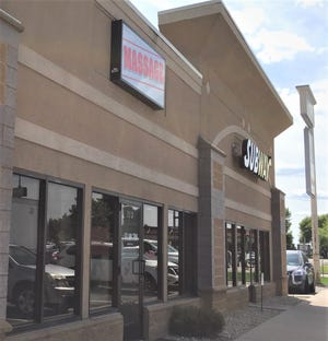 """The city of St. Cloud denied license renewal requests for Asian Day Spa on Clearwater Road after """"evidence of illicit activity,"""" according to city documents. The business is pictured Wednesday, Aug. 21, 2019."""