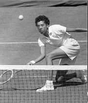 Althea Gibson, former FAMU tennis great who won Wimbledon Championship in 1957.