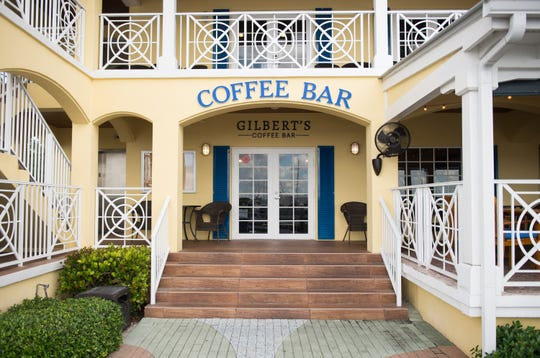 Celebrate Gilbert's Coffee Bar, which opened last year at Sunset Bay Marina & Anchorage in Stuart.
