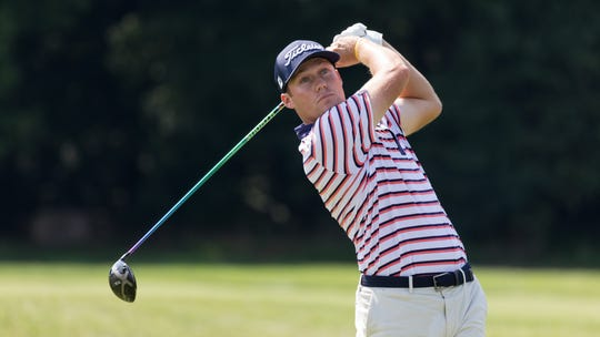 Michael Miller has a share of the lead after the first round of the Met Open. The Brewster native shot a bogey-free 63 at Piping Rock, where he's got a positive history.