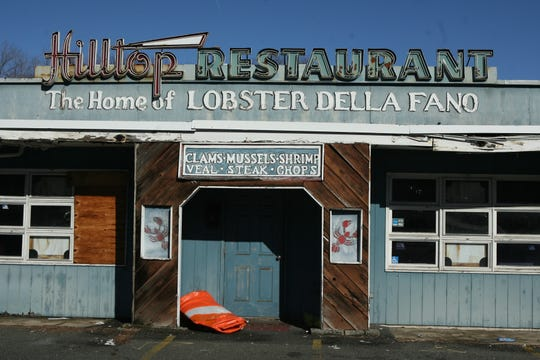 The former Hilltop Restaurant in Nyack in 2010. The restaurant closed in 2005.