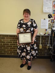 "Karen Curry, family and consumer sciences teacher at New Lexington Middle School, also won the Teacher of the Year Award from Ohio Association of Teachers of Family and Consumer Sciences. Curry said she will probably retire from the same classroom where she started as a student teacher. ""It's my love, it's my passion"" Curry said. ""Every day in this room is different."""