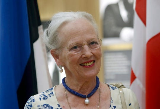 Queen Margrethe II of Denmark arrives for a gala dinner at the Arvo Part Center in Laulasmaa, Estonia, 15 June 2019. EPA-EFE/Valda Kalnina