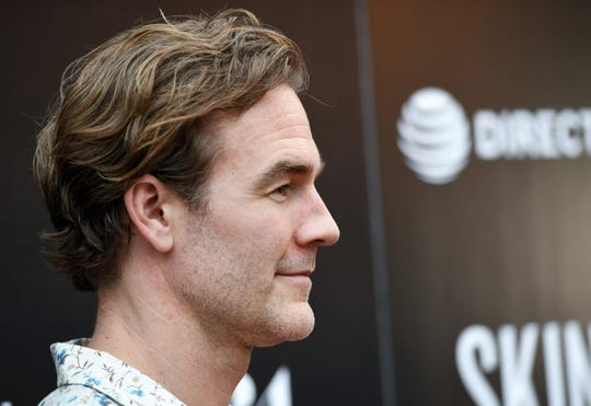 """I love to dance. ... I love that expression,"" says  James Van Der Beek, who is among the celebrities hitting the dance floor for Season 28 of ""DWTS."""