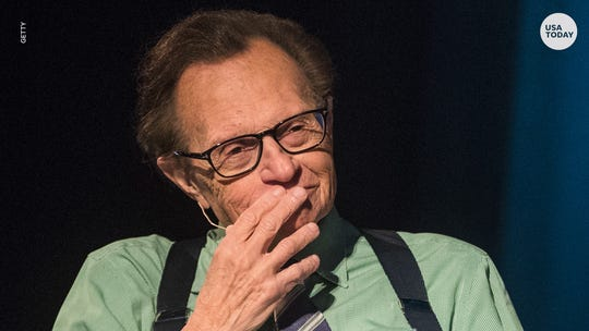 Larry King's son speaks out amid parents' divorce, slams this rumor as 'completely false'
