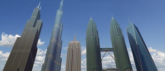 Five ground breaking skyscrapers in AR