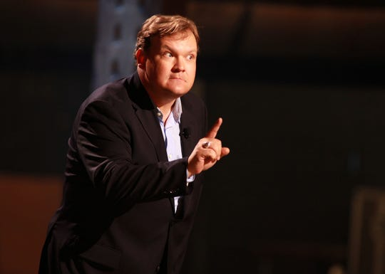 Andy Richter doesn't want to fly with your nasty bare feet.