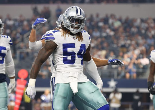 Cowboys linebacker Jaylon Smith has become a key part to a strong defense.