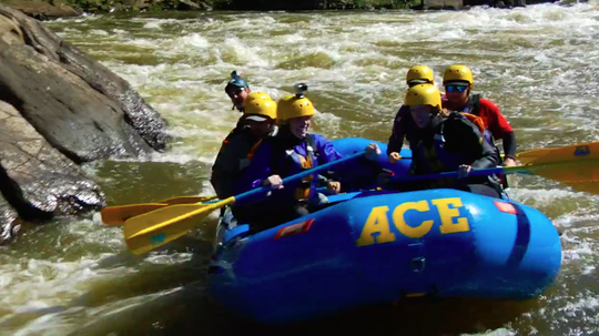 Some of the country's most challenging rapids churn through West Virginia's Gauley River every September.