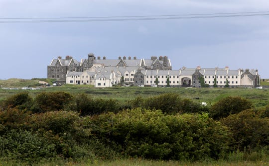 Trump International Golf Links and Hotel, Doonbeg, Ireland.
