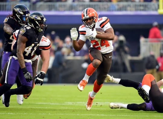 No. 23: RB Nick Chubb, Cleveland Browns
