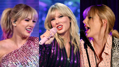Taylor Swift at various live appearances during her 'Lover' promotional cycle.