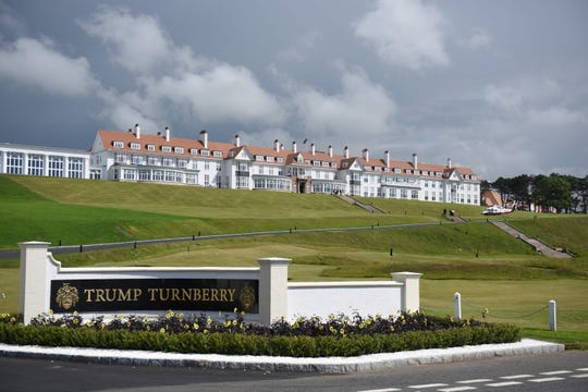 Trump Turnberry, Turnberry, Scotland.