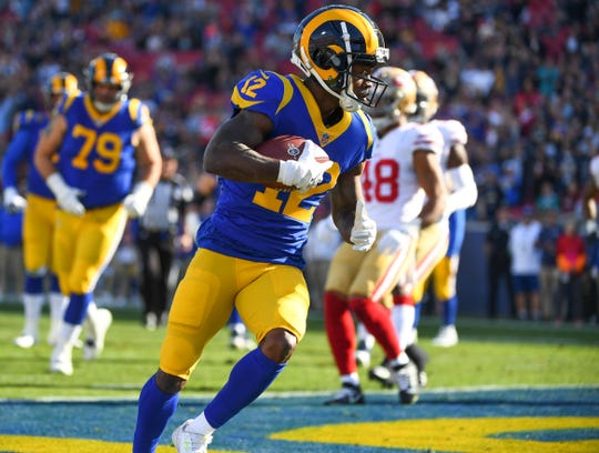 Rams wide receiver Brandin Cooks could be on the trade market.