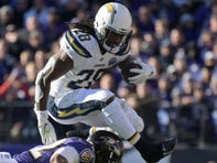 A holdout should give fantasy owners pause when considering Chargers running back Melvin Gordon, who has posted double-digit touchdowns each of the last three seasons.