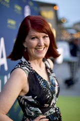 "Kate Flannery is excited to embrace the glamour of 'Dancing With the Stars' after nine seasons on the beloved but decidedly less glamorous comedy ""The Office."""