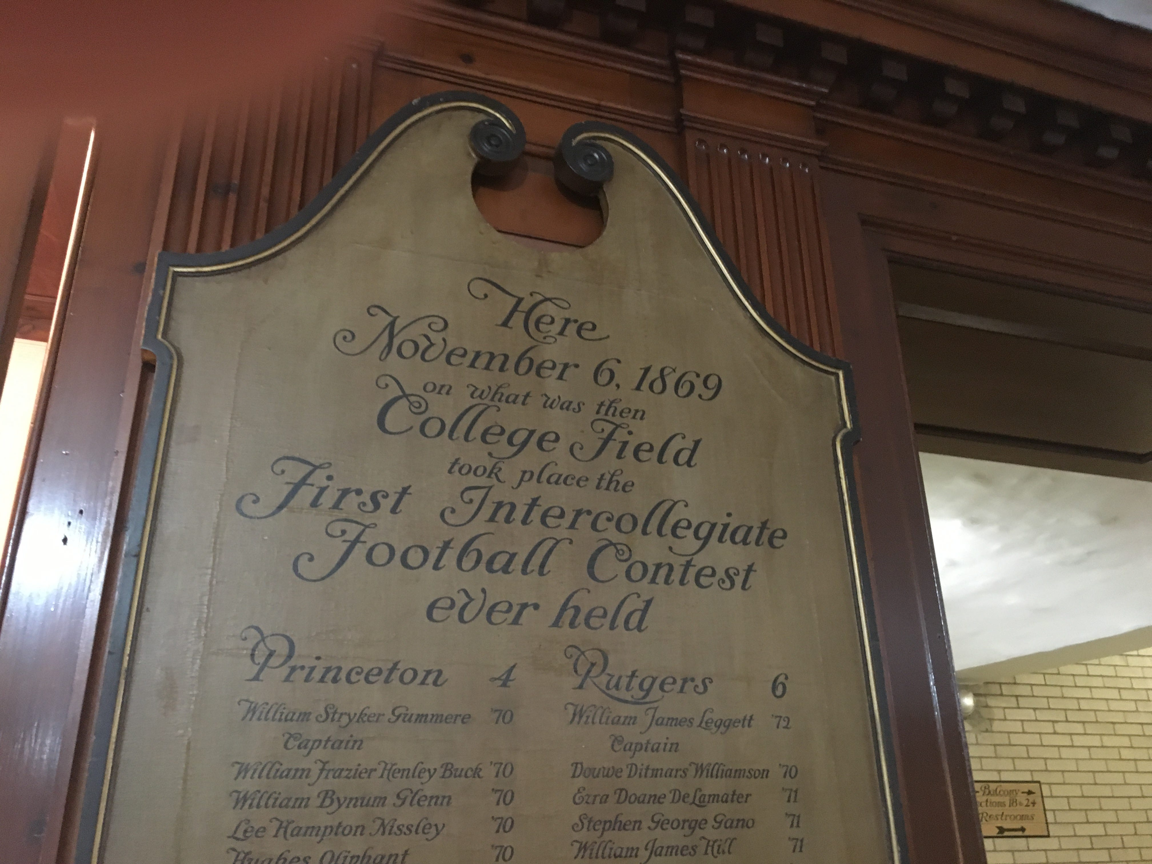 A look at the birthplace of college football