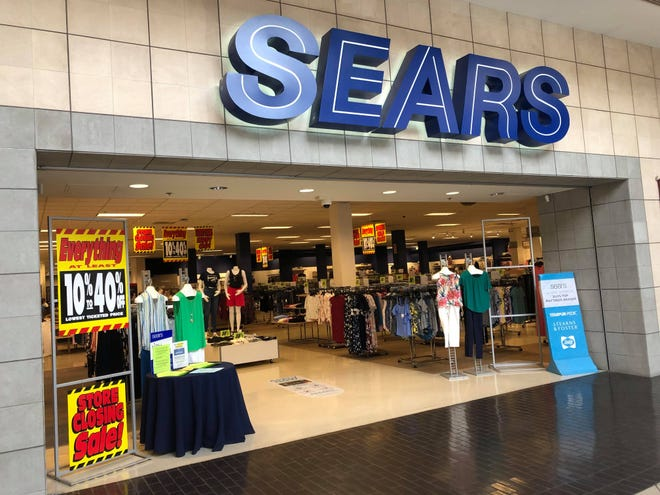 The Kitsap Mall Sears store advertised a closing sale on Thursday.