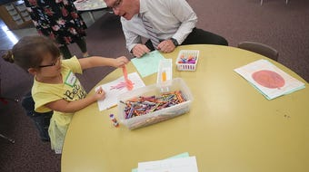 Young students in late August got a taste of what kindergarten will be like when school starts  in South Kitsap School District Sept. 4, 2019.