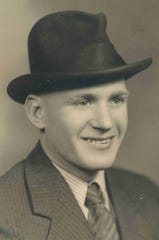 Wilfred Palmer, the younger of the brothers who died in Pearl Harbor.