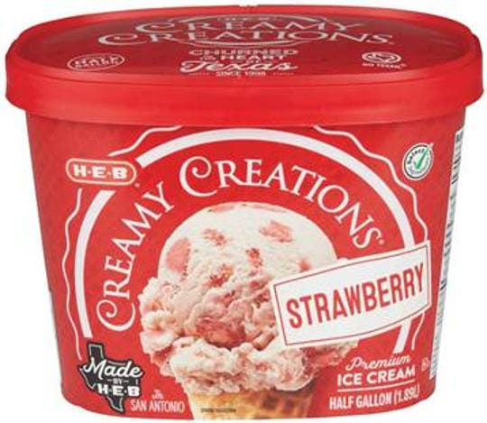 H-E-B Creamy Creations Strawberry