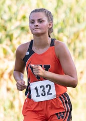 Waverly's Sarah Crabtree took second place with a time of 23:23.36 at the annual Waverly Tiger invitational in Waverly, Ohio.