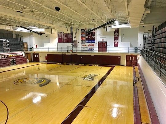 The Turpin High School gymnasium in Anderson Township.