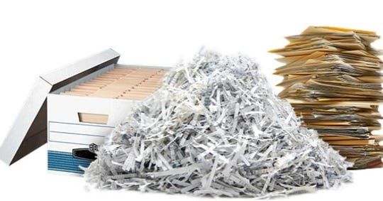 The Union County Board of Chosen Freeholders announcedthe next two free mobile paper shredding events for personal and confidential documents will be held on Thursday, Sept. 12, in Linden and Friday, Sept.20, in Westfield.
