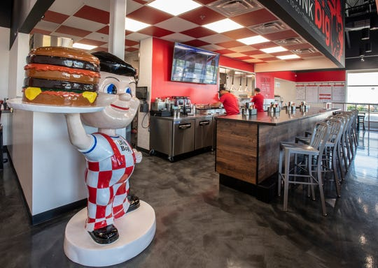 Big Boy's fast-casual concept opened Tuesday in Southfield. The restaurant group will also open a traditional Big Boy where Pasquale's was on Woodward in Royal Oak.