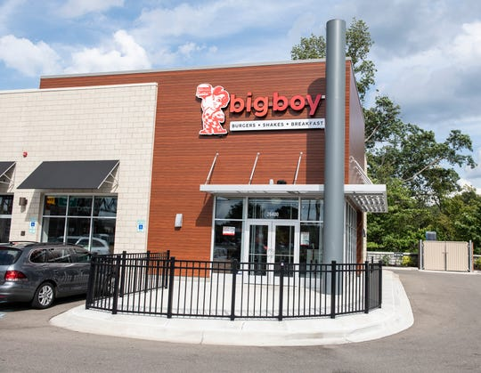 Big Boy's fast-casual concept opened Tuesday in Southfield.