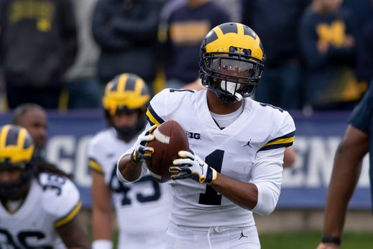 Michigan defensive back Ambry Thomas says he's returned to the practice field after he was diagnosed with colitis.
