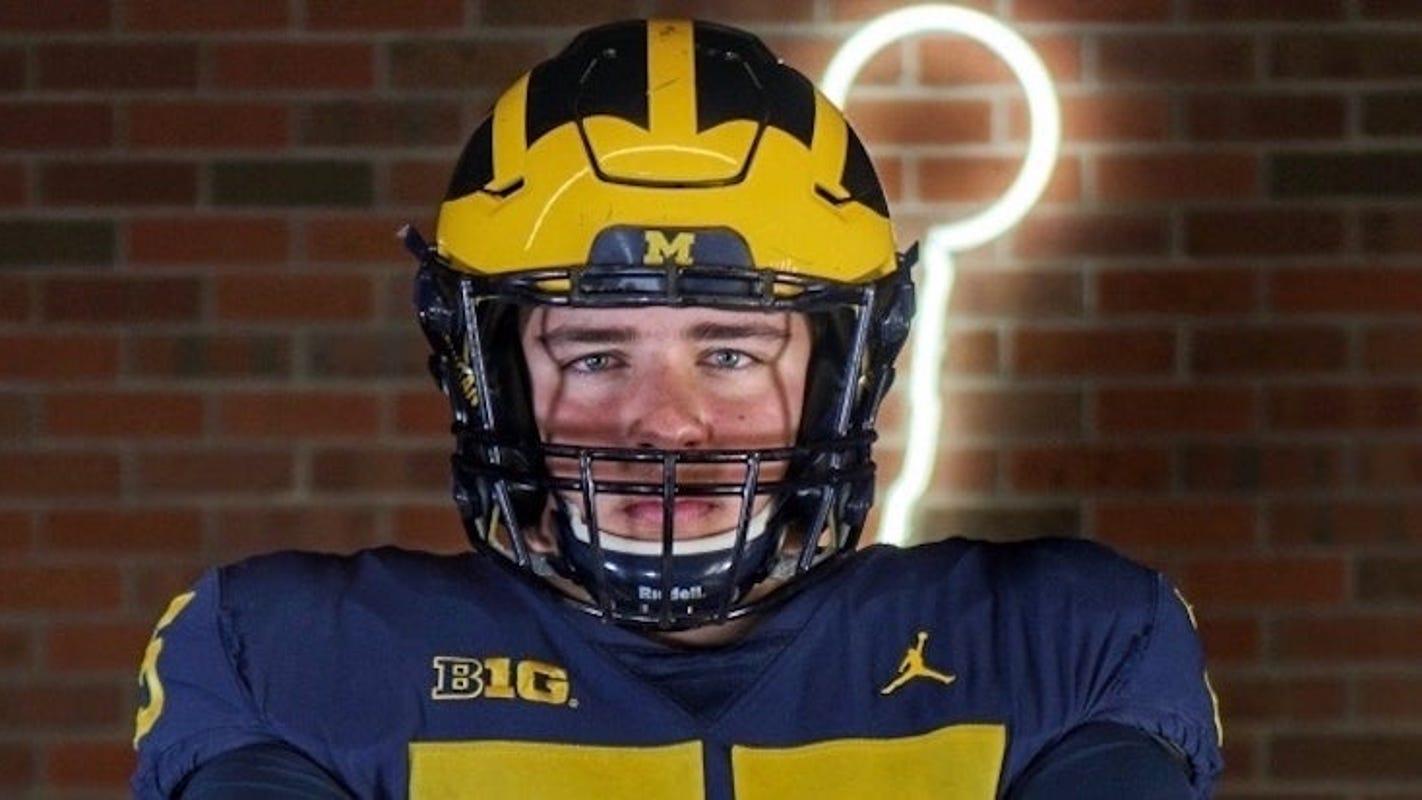 Trieu: Michigan's 'cool culture' impresses OT target Andrew Gentry