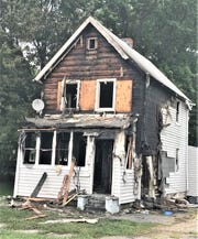 No one was injured when this house on Erie Street in Elmira caught fire Wednesday night.