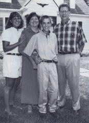 The Cooper Family Circa 1997Jennifer, Connie, Brett and Robin