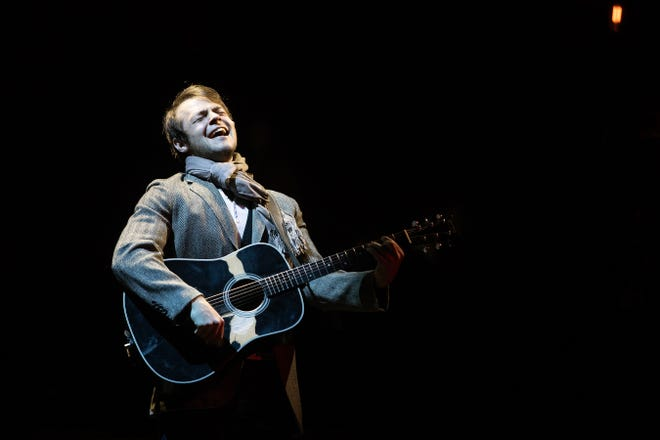 """Jack Gerhard performs in Broadway Palm's production of """"Once,"""" The musical runs from August 22 to September 28."""