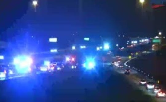 A fatal crash on northbound I-75 was blocking both lanes of the on-ramp from Alico Road Wednesday night.