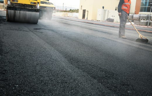 The city of Asheville does have plans to finish paving Caledonia Road, but it's looking at storm water fixes first.